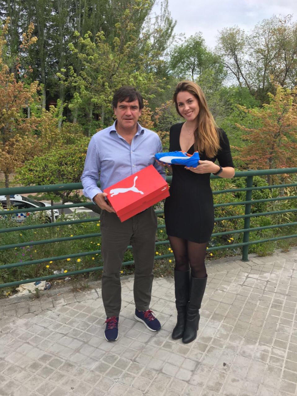 Recibimos 4 pares de botas PUMA de la mano de Marcos Alonso Peña